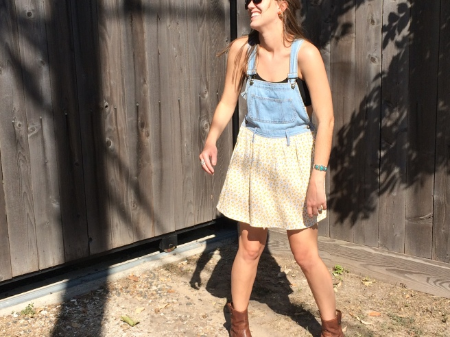 Overall Dress: $10.00 Height of Vintage Houston, TX